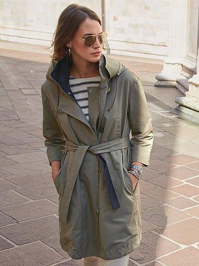 MYBC - Tweezijdig te dragen jas met capuchon