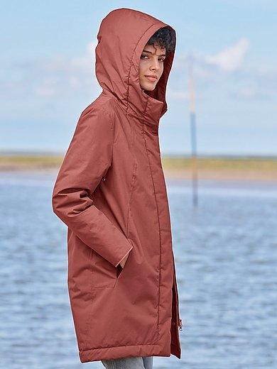LangerChen - La veste en coton biologique à capuche