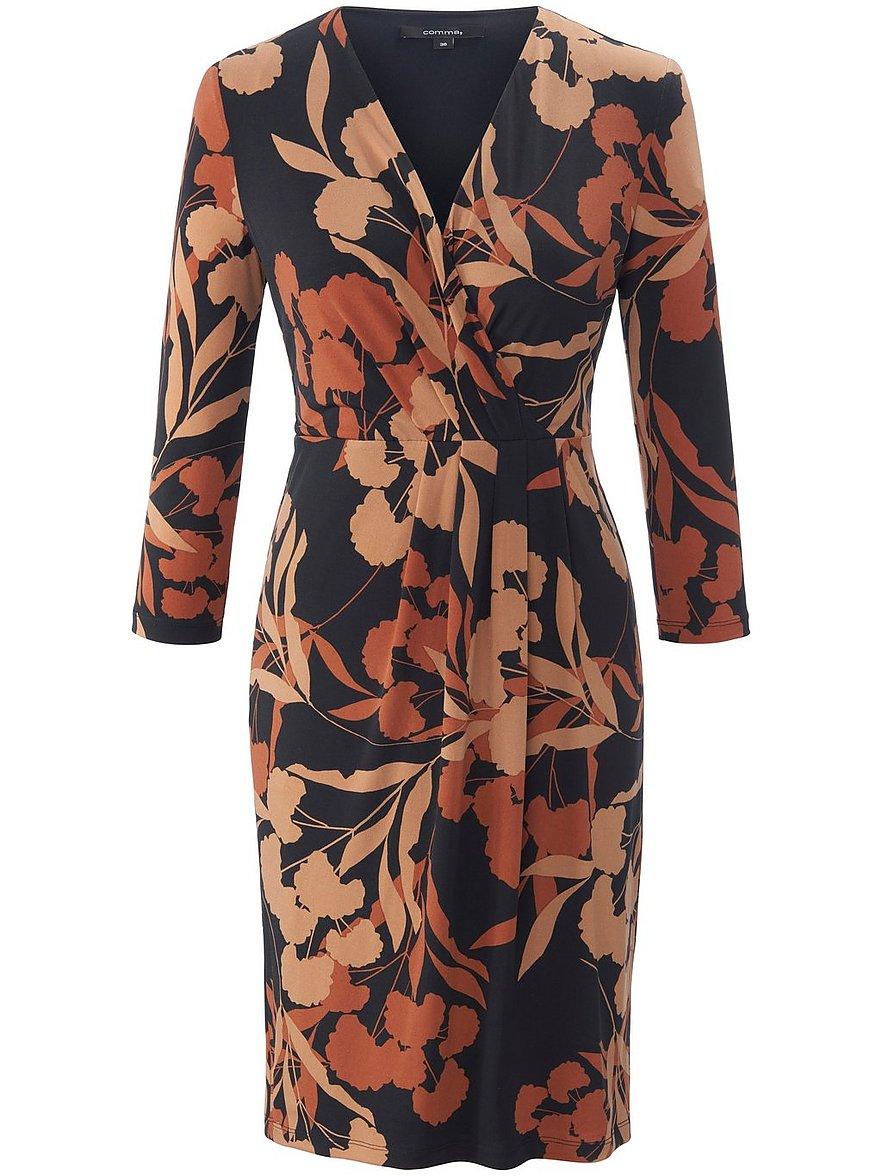 comma, - Jersey-Kleid  mehrfarbig Größe: 40