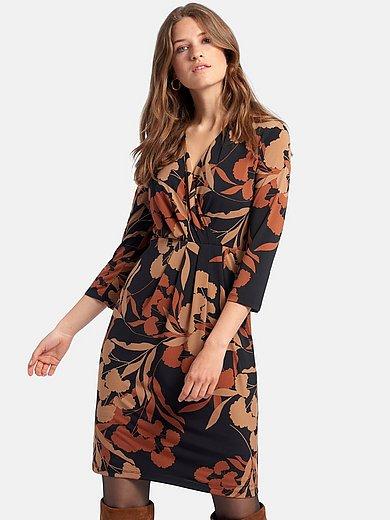 comma, - Jerseyklänning med 3/4-ärmar