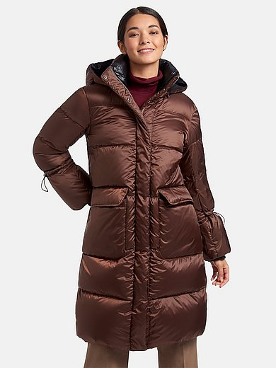 Milestone - Quilted down coat with hood