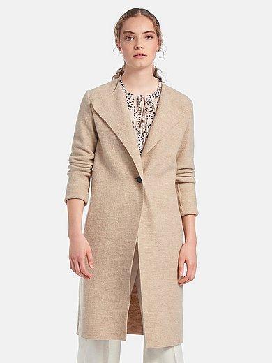 Lanius - Le manteau en laine foulée 100% laine