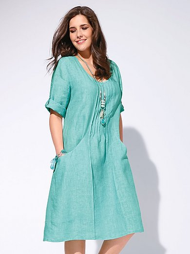 Anna Aura - Kleid aus 100% Leinen mit 3/4-Arm