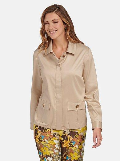 Emilia Lay - Jacke mit Hemdkragen