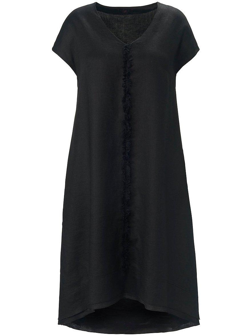 emilia lay - Kleid aus 100% Leinen  schwarz Größe: 56