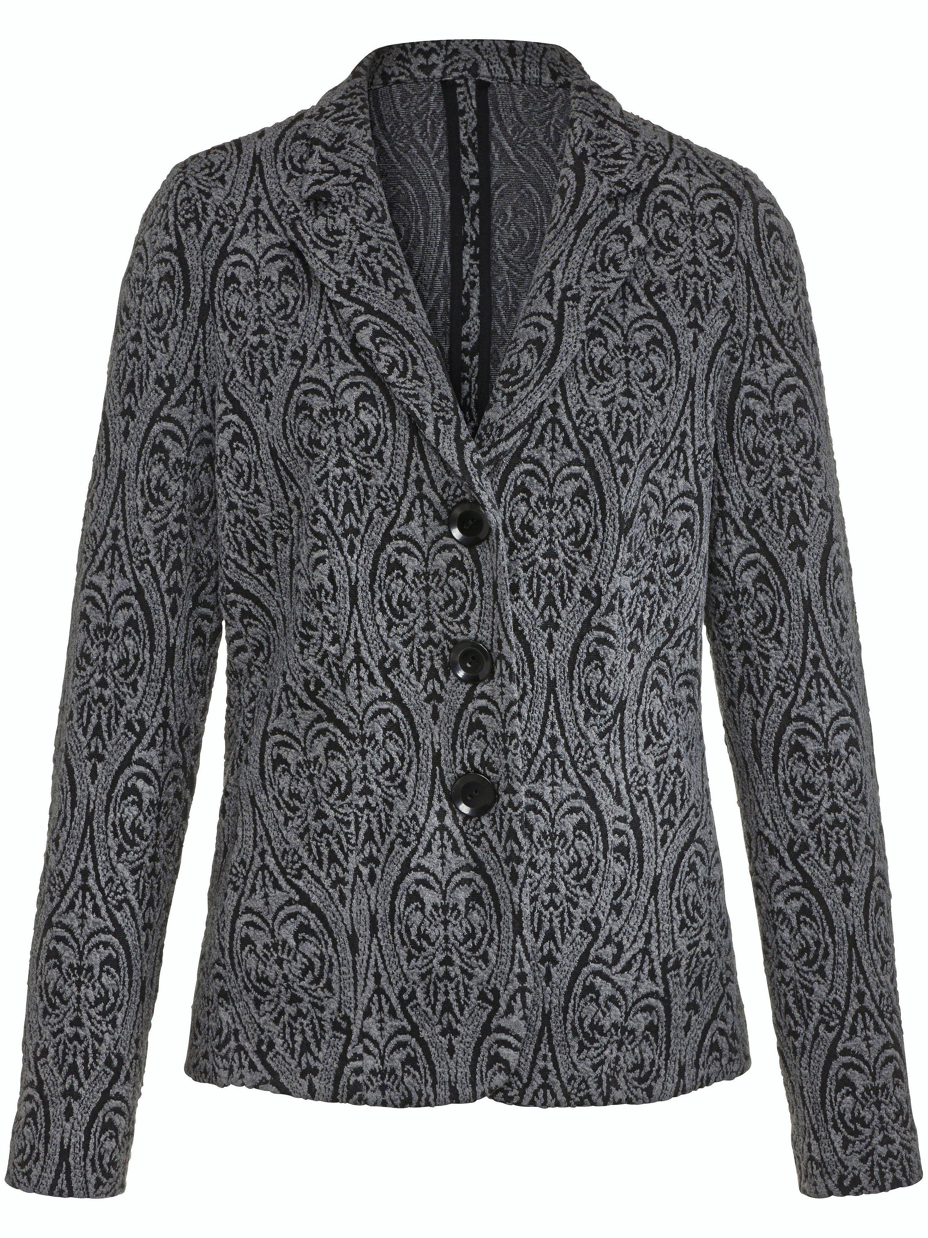 Le blazer en jersey  Rössler Selection gris