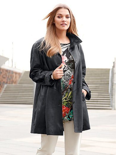 Anna Aura - Soft kidskin nappa leather coat