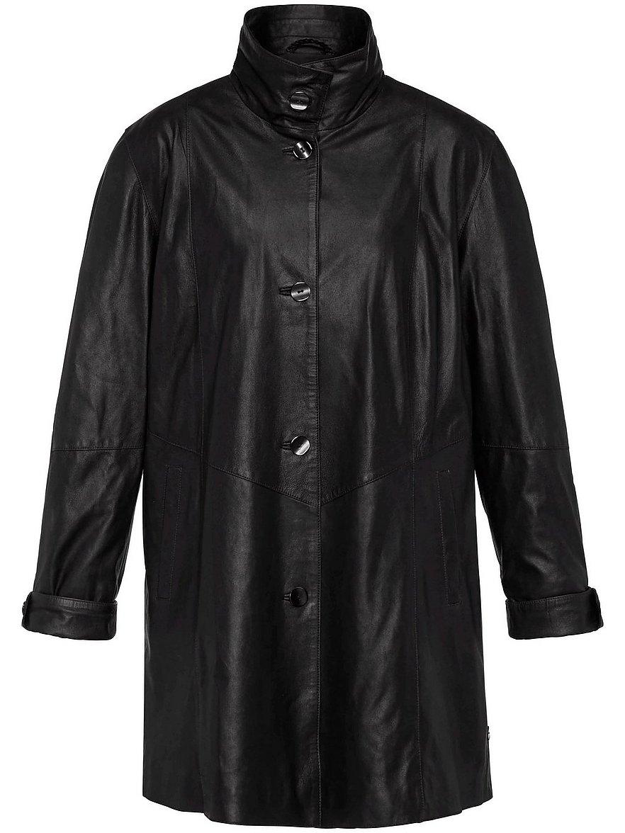 Ledermantel aus 100% Leder Anna Aura schwarz Größe: 56   Bekleidung > Mäntel > Ledermäntel & Kunstledermäntel   Anna Aura