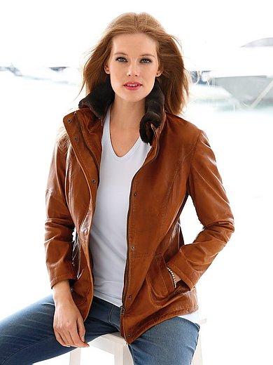 Anna Aura - La veste en cuir d'agneau