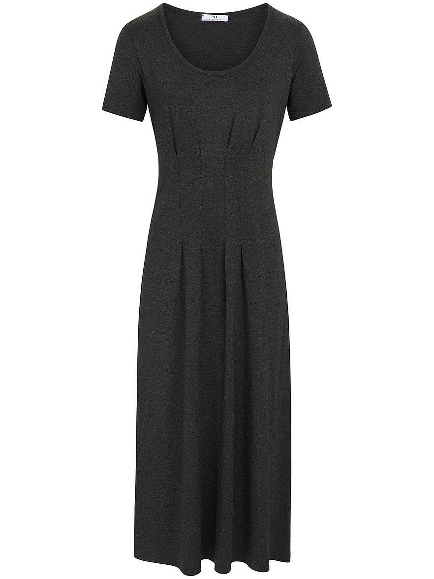 peter hahn - Jersey-Kleid 1/2 Arm  grau Größe: 36
