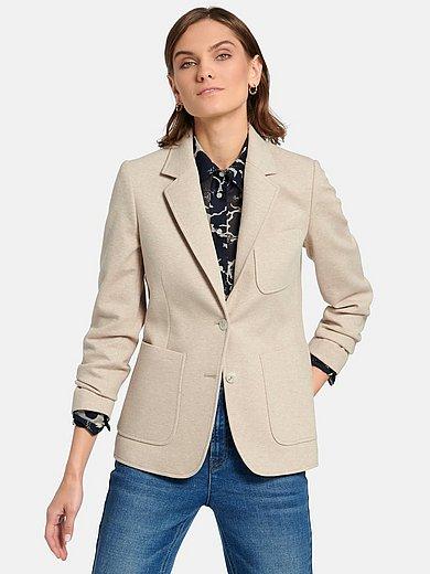 GANT - Le blazer en jersey chiné