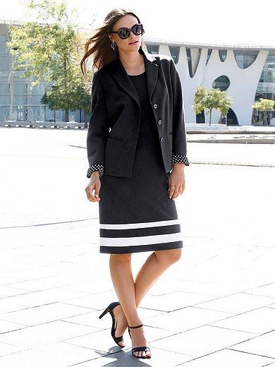 Anna Aura - La robe en jersey, ligne fourreau, manches courtes