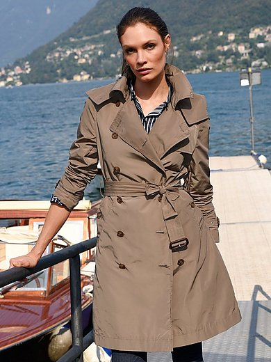 MYBC - Trench coat with detachable hood
