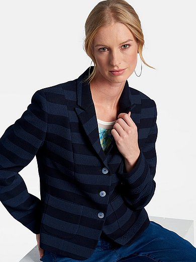 Basler - Striped blazer