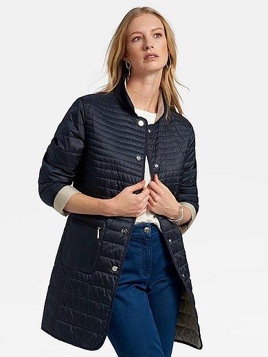 Basler - Vendbar lang quiltet jakke