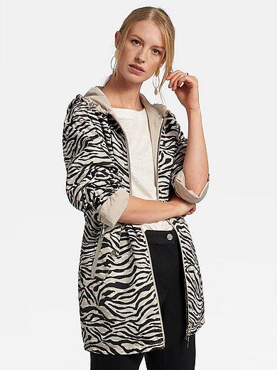 Basler - Vendbar jakke med hætte