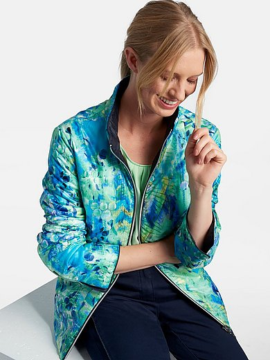 Basler - Reversible quilted jacket with stand-up collar