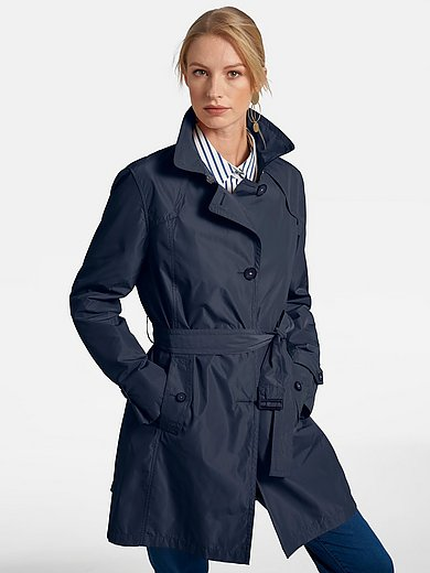 Basler - Trench coat with wide revers