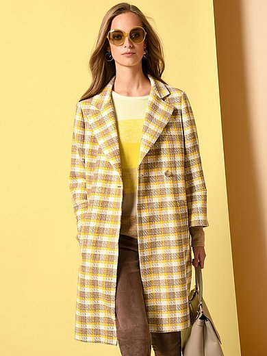 Fadenmeister Berlin - Coat with 7/8-length sleeves