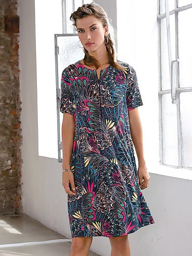 Looxent - Short-sleeved jersey dress