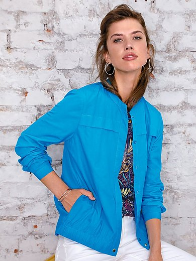Looxent - Blusjacka med rund halsringning