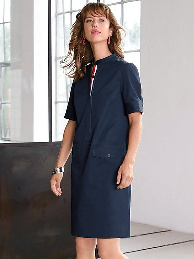 Looxent - Summer dress with short sleeves