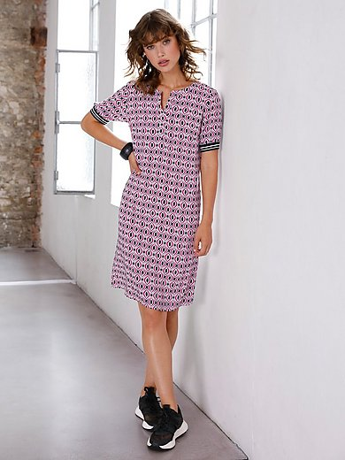 Looxent - Loose-fitting dress with graphic print