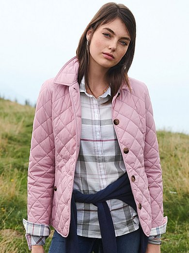 Barbour - Steppjacke mit Umlegekragen