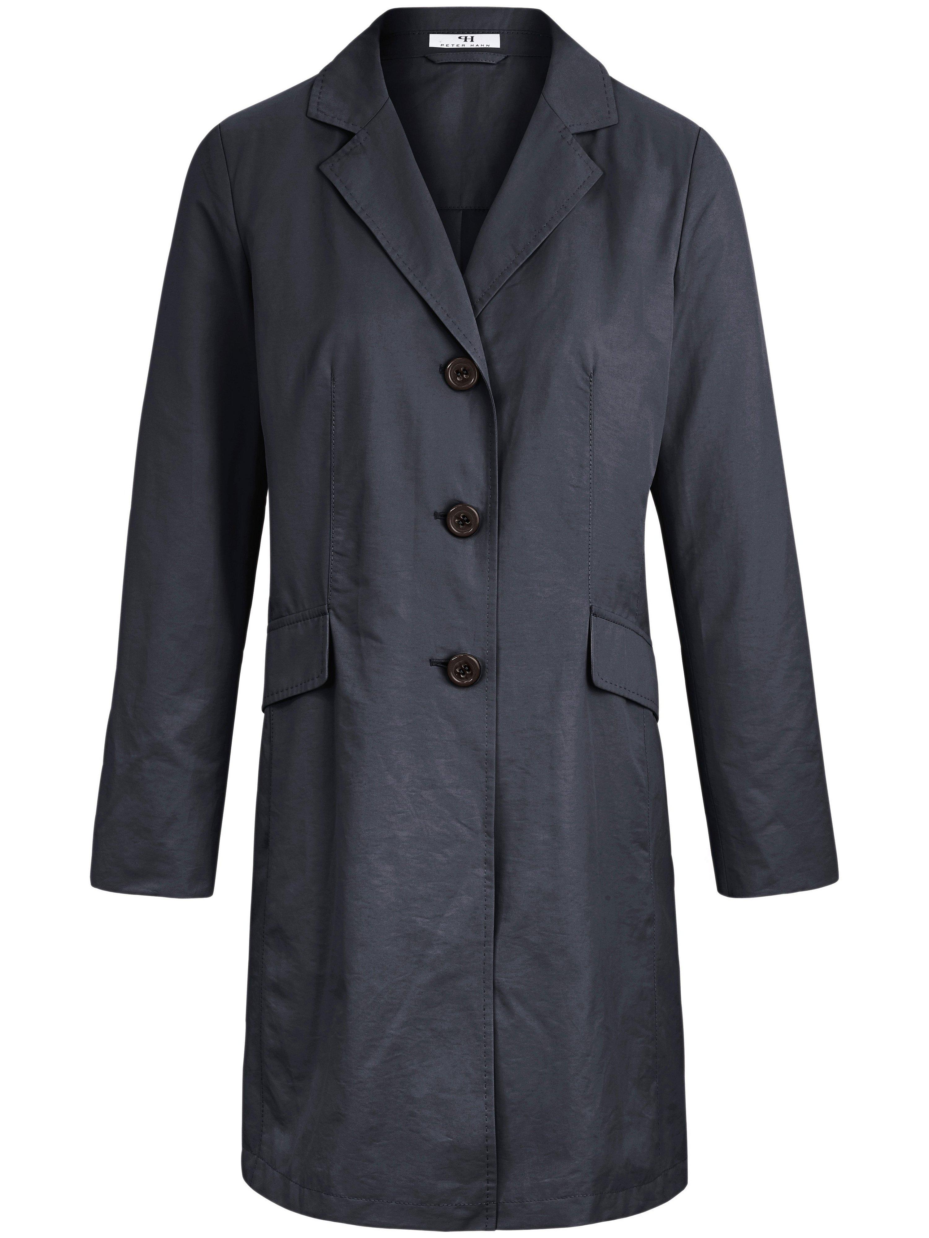 Le manteau 3/4 micro-coton  Peter Hahn bleu taille 24