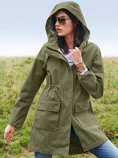 Barbour - La veste style parka en micro-coton