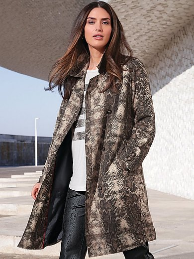 Emilia Lay - Trench coat with revere collar