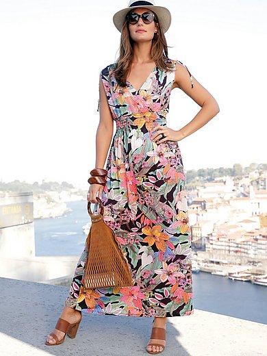 Emilia Lay - Maxi-jurk met gesmokte taille