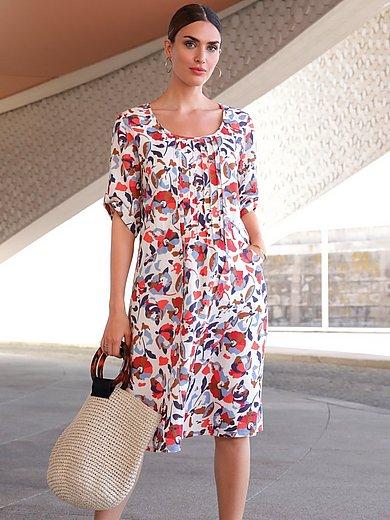 Emilia Lay - Kleid mit 3/4-Arm und Rundhals-Ausschnitt