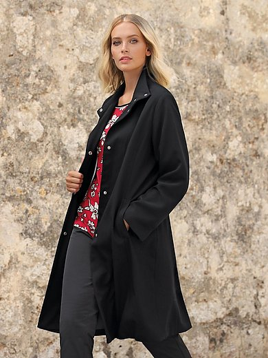 Anna Aura - Summer coat with stand-up collar