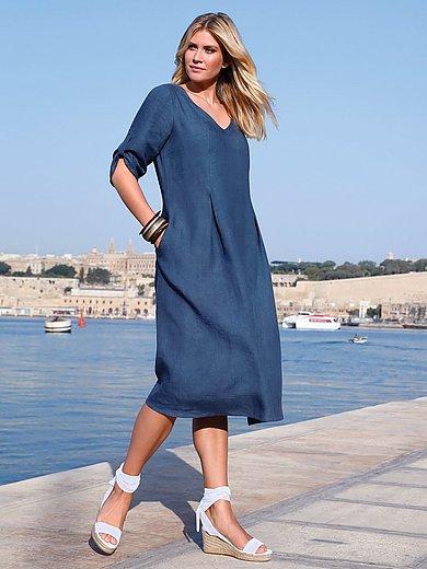 Anna Aura - Kleid mit 3/4-Arm aus 100% Leinen