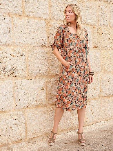 Anna Aura - Kleid mit 3/4-Arm in A-Form aus 100% Leinen