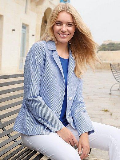 Anna Aura - Le blazer en seersucker 100% coton