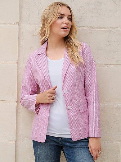 Anna Aura - Seersucker blazer in 100% cotton