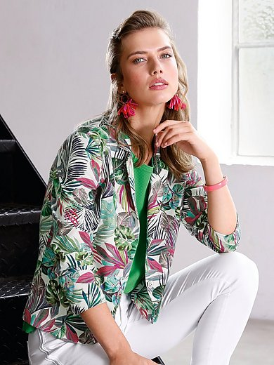 Looxent - Jersey blazer with long sleeves