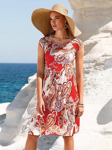 ZAIDA - Jersey-Kleid mit kurzem 1/2-Arm