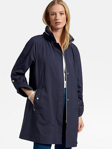 Basler - Coat with gathered stand-up collar