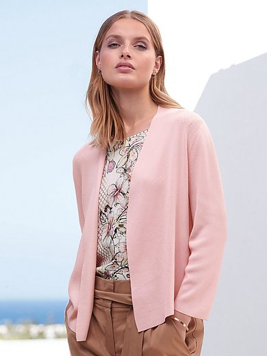 Gerry Weber - Open-front cardigan with 3/4-length sleeves