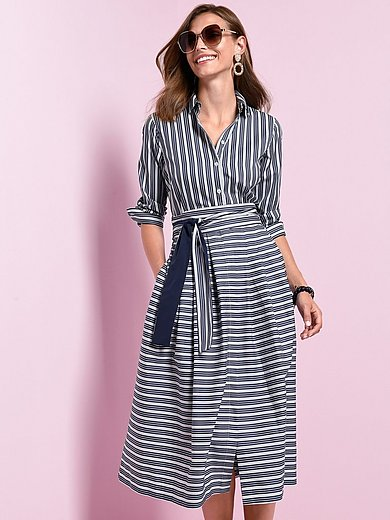 Windsor - Striped shirt style dress