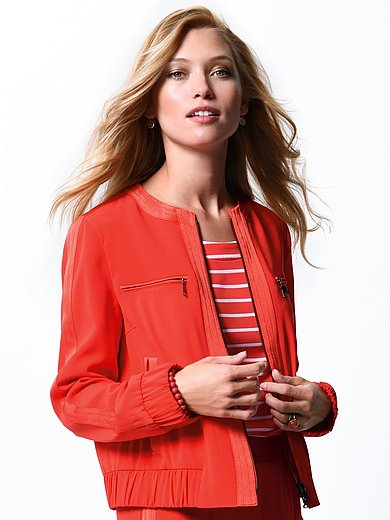Bogner - Blouson jacket made of crease-free woven fabric