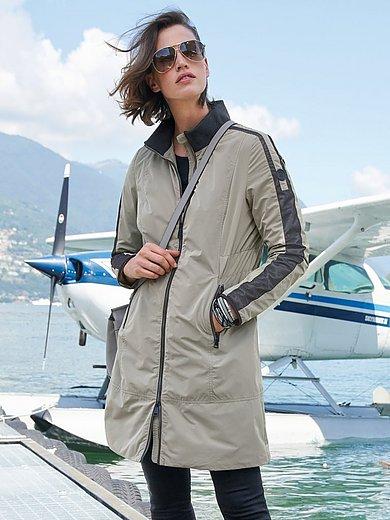 Manisa - Lang jakke med ståkrave