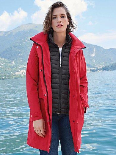 Fuchs & Schmitt - Lange rainwear-jas met capuchon