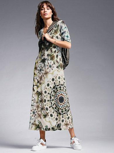 Margittes - Jersey dress with longer 1/2- length sleeves