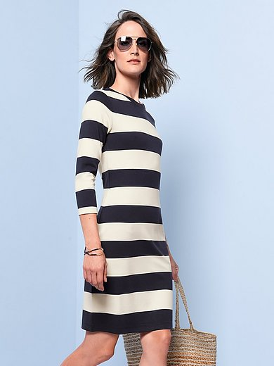 GANT - Jersey dress with 3/4-length sleeves