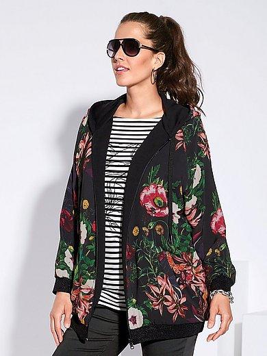 FRAPP - La veste réversible en jersey à capuche