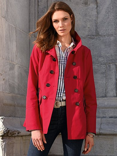 Fuchs & Schmitt - Caban-jakke med nedfaldende krave